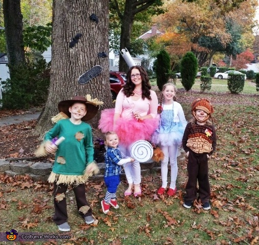 Wizard of Oz Family Costume