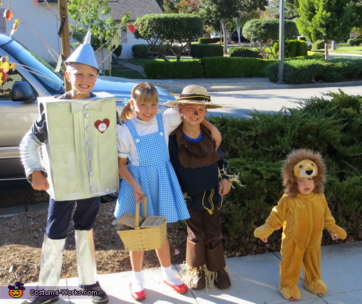 Wizard of Oz - Homemade costumes for kids