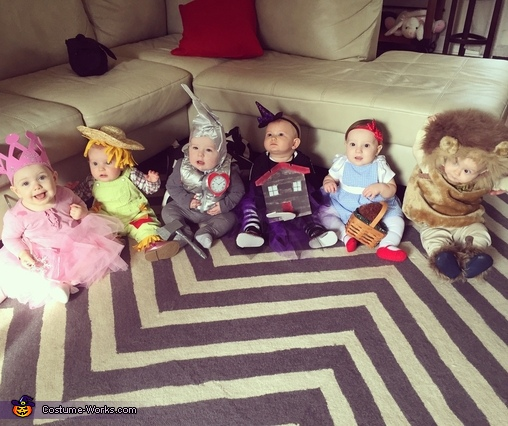 Chaos of babies, Wizard of Oz Babies Costumes