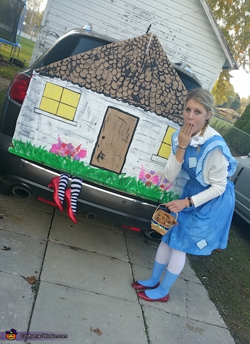Dorothy and the Wicked Witch, Wizard of Oz Group Costumes