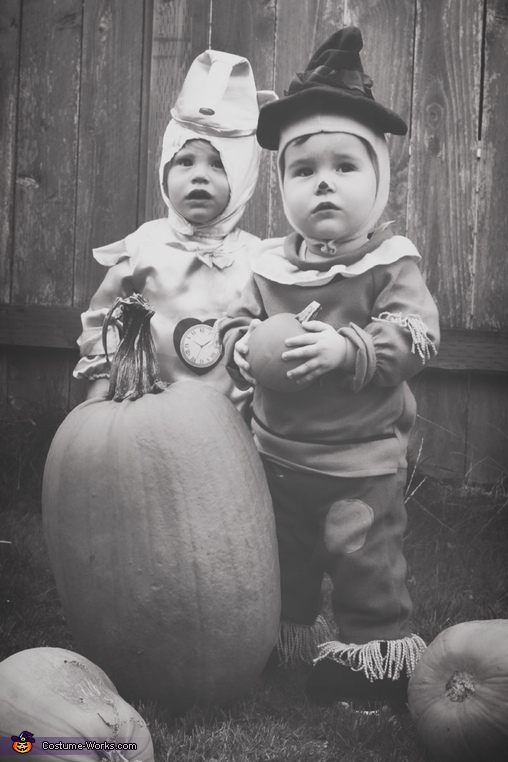 Wizard of Oz Babies Homemade Costume