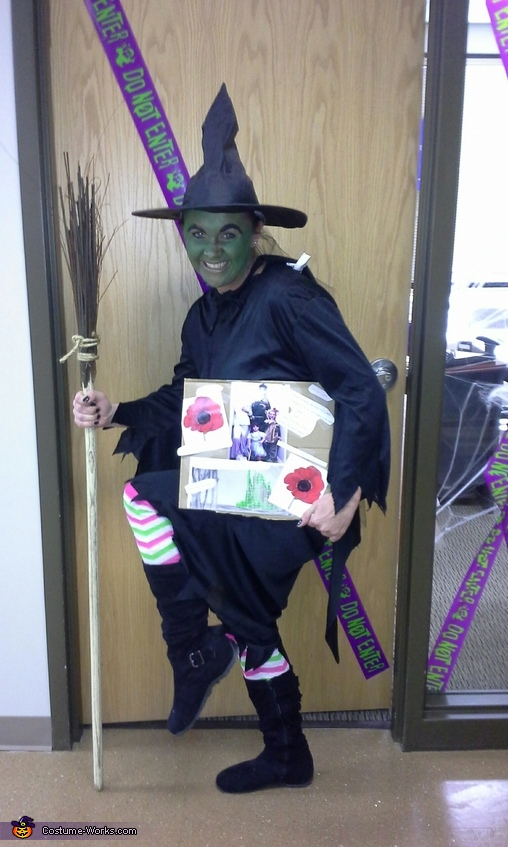 Wicked Witch of the West (aka: the mom), Wizard of Oz Family Costume