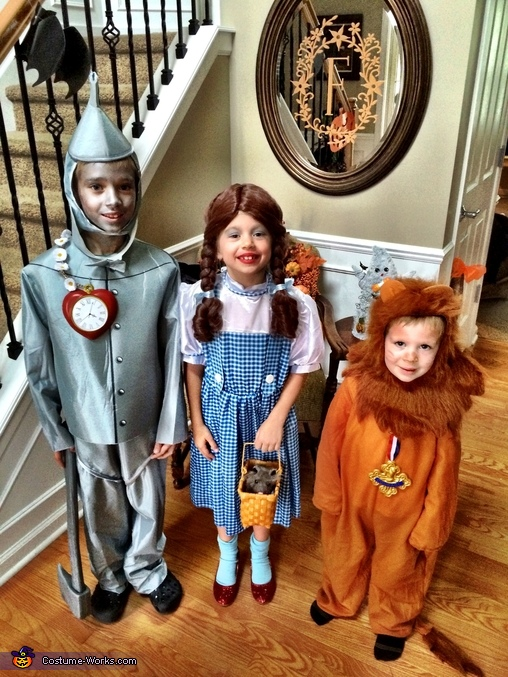 Wizard of Oz, Wizard of Oz Family Costume