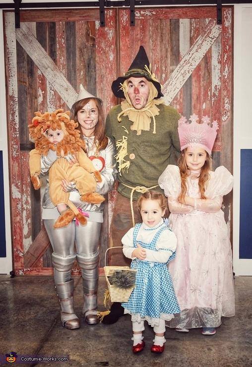 Wizard of Oz, Wizard of Oz Family Costume