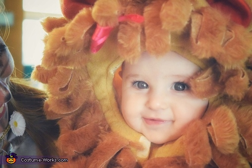 Our little Cowardly Lion, Wizard of Oz Family Costume