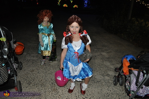 Our Dorthy! , Wizard of Oz Family Costume