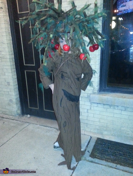 Talking Apple Tree from the Wizard of Oz Costume