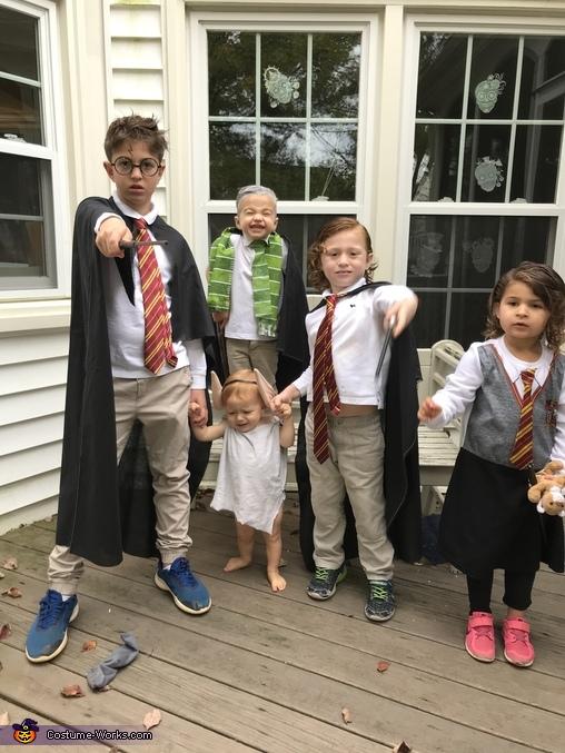 Wizarding Family Homemade Costume
