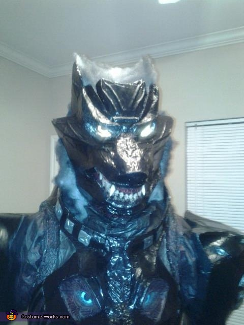 Head Shot, Wolf Bane Costume