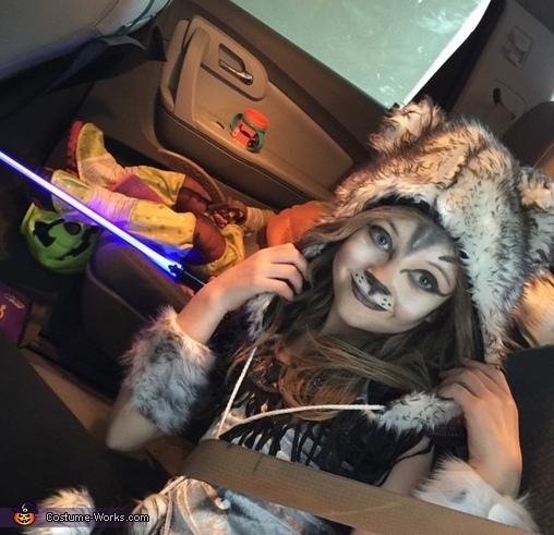 Wolf Girl Costume
