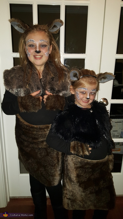 Wolf Tribe Costume