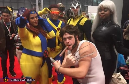 The gang's all here, Wolverine Costume