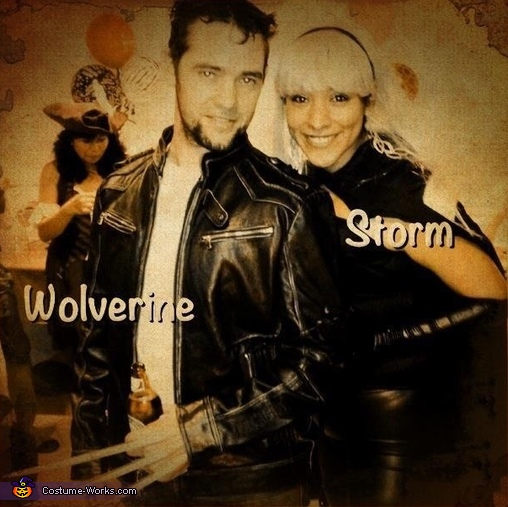 Wolverine and Storm Costume