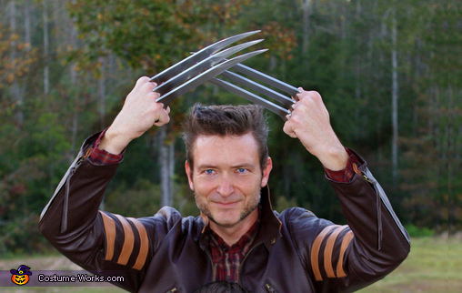 Wolverine, Wolverine and Young Jimmy Costume