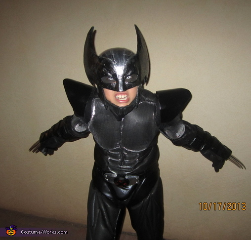 Wolverine X-Force - Homemade costumes for boys