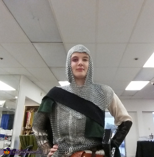 Woman Knight Homemade Costume