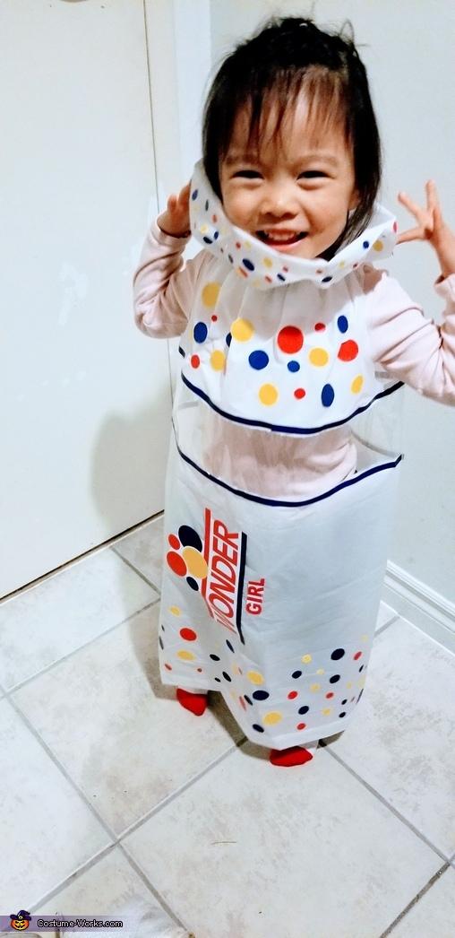 Wonder Girl Posing, Wonder Girl Costume
