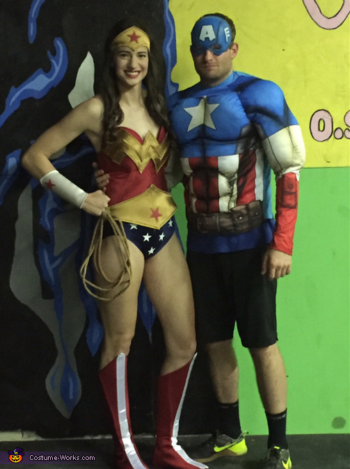 Me and Captain America!, Wonder Woman Costume