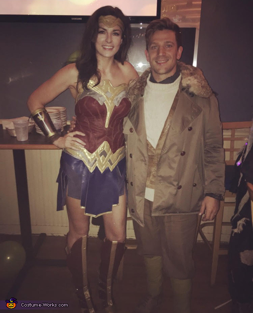 Wonder Woman and Captain Steve Trevor Costume