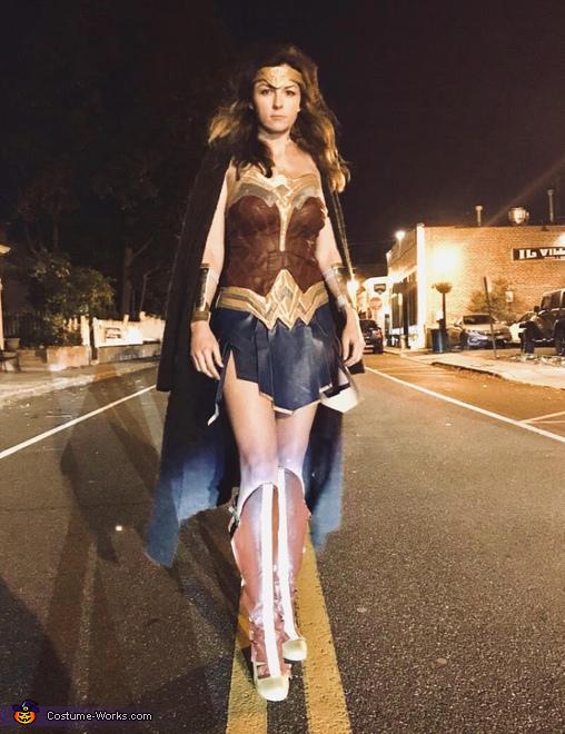 WonderWoman, Wonder Woman and Captain Steve Trevor Costume