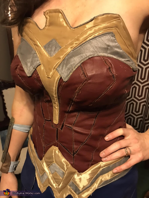 WonderWoman closeup, Wonder Woman and Captain Steve Trevor Costume