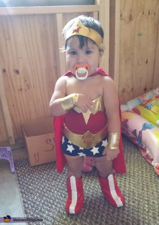 Wonder Woman Baby Costume