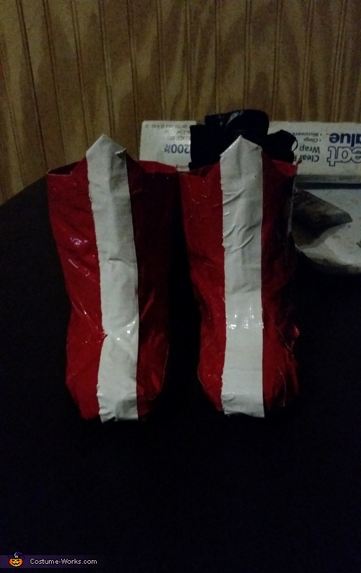 duct tape boots, Wonder Woman Baby Costume