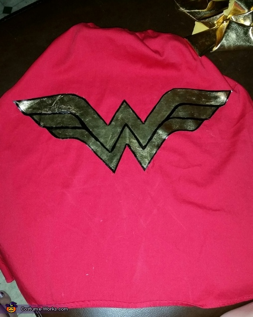 cape , Wonder Woman Baby Costume