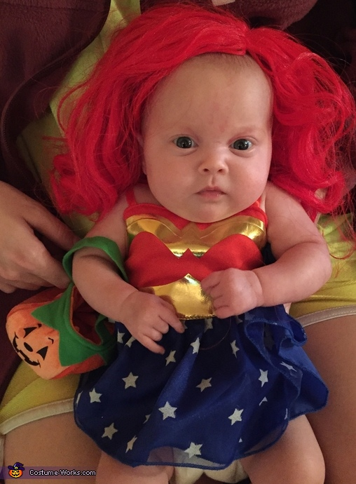 Preemie Wonder Woman Costume