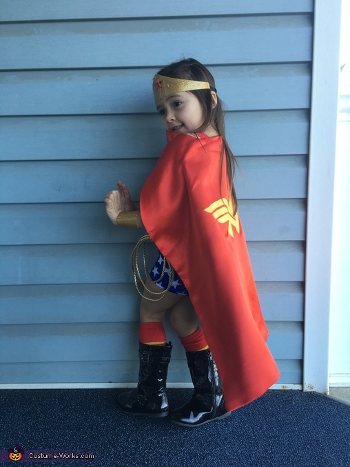 Wonder Woman Girl Homemade Costume