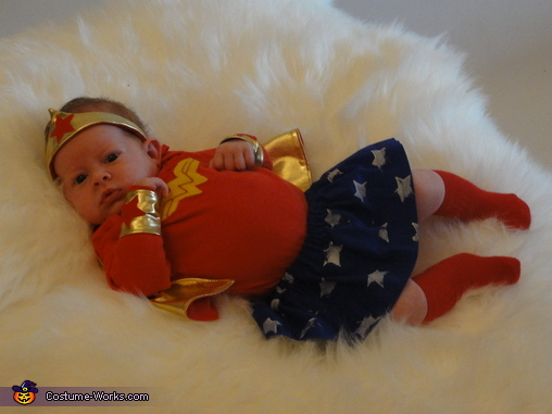 Wonder Woman Baby Costume Diy