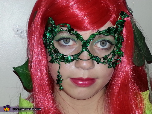 Poison Ivy Mask, Wonder Woman, Poison Ivy and Harlequin Costume