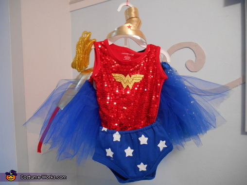 Wonder Woman Costume, Wonder Woman Toddler Costume