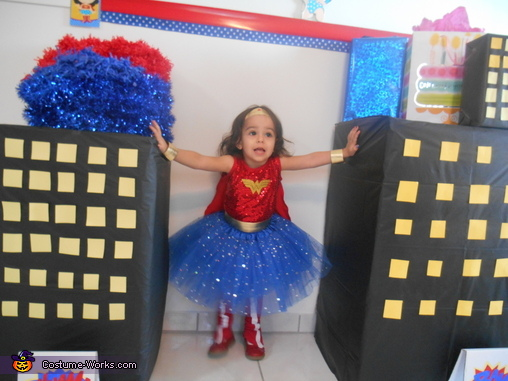 Toddler Wonder Woman, Wonder Woman Toddler Costume