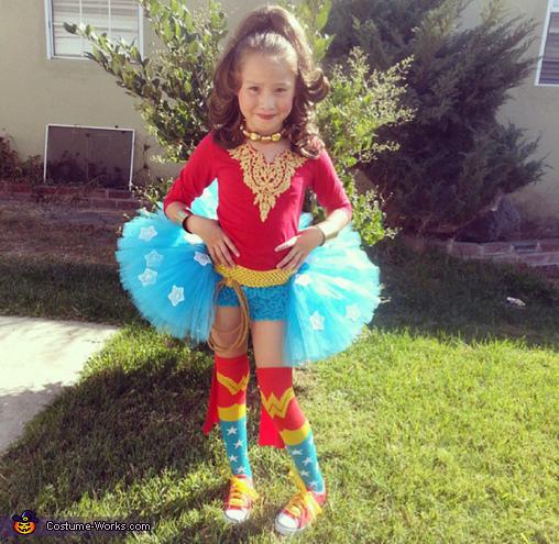Wonder Woman Girl S Costume