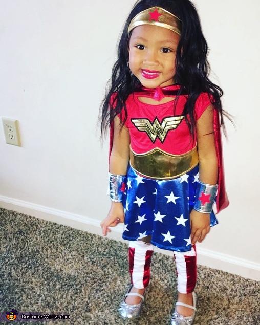 Wonder Women Homemade Costume