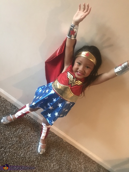 Ready to Save the world, Wonder Women Costume