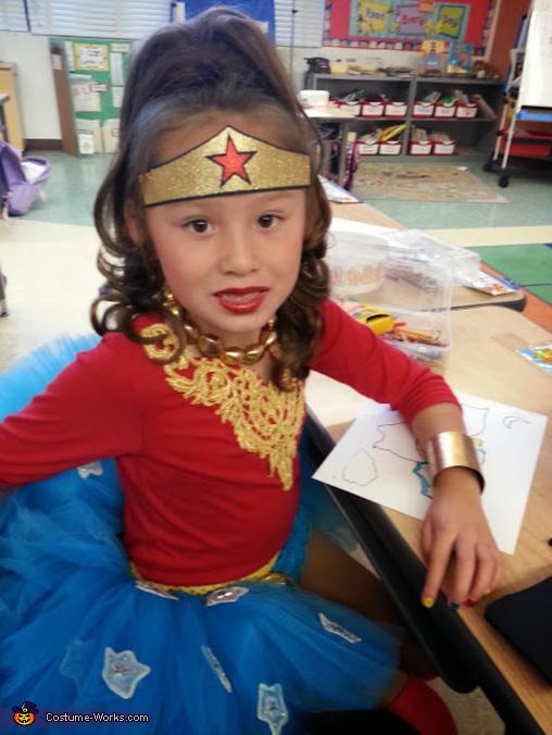 Wonder Woman Girl's Costume