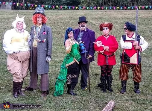 Wonderland Group Costume