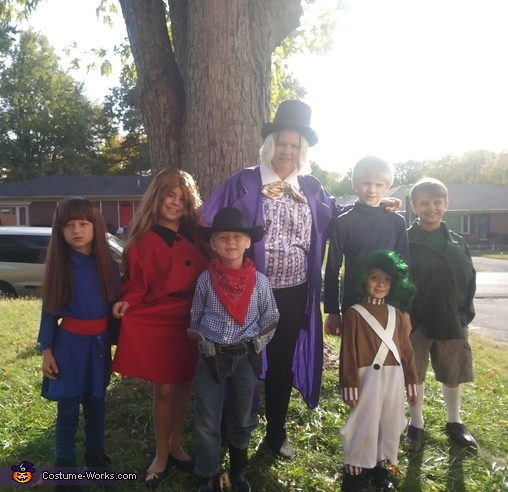 Wonka Family Costume