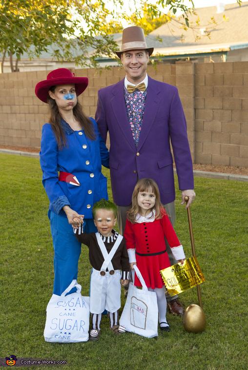 Wonka Family Costume