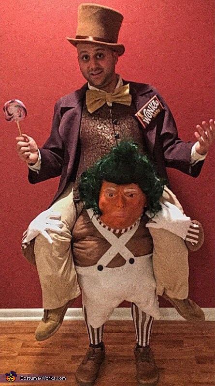 Wonka Trumpa-Loompa Costume