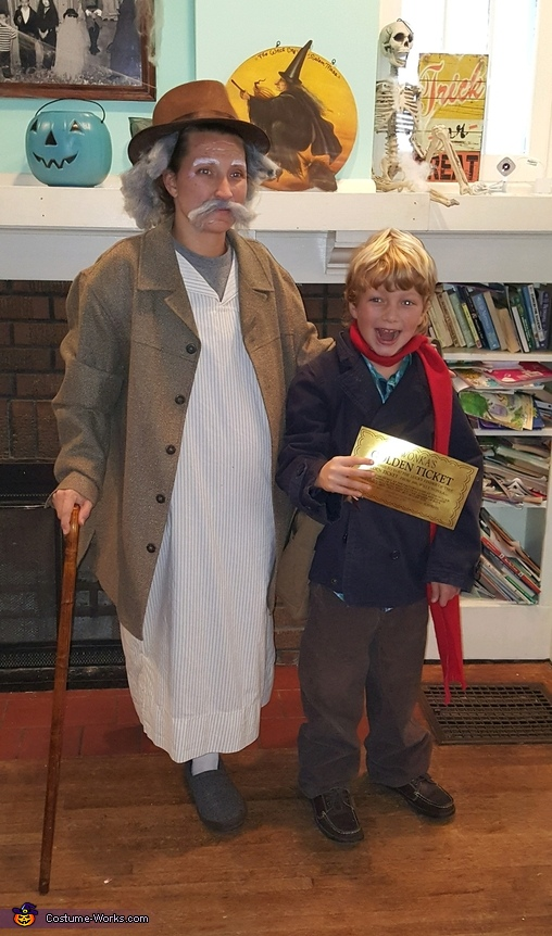 Charlie Bucket and Grandpa Joe, Wonkerer's Costume