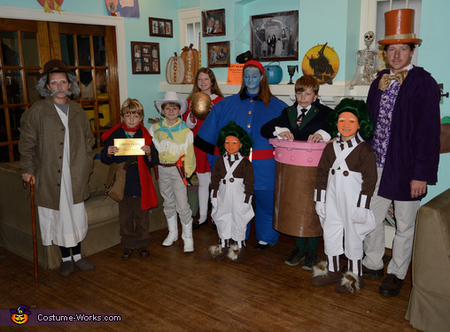 The Wonka Family, Wonkerer's Costume