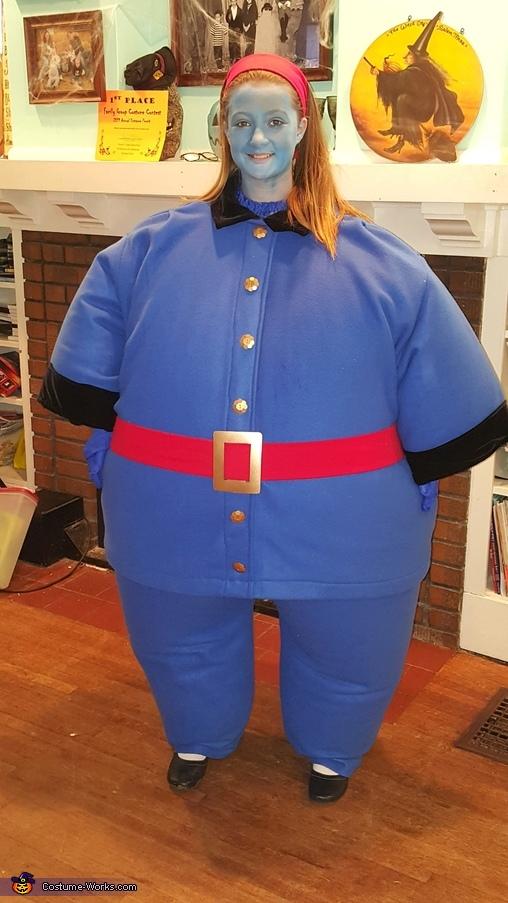 Violet Beauregarde, Wonkerer's Costume