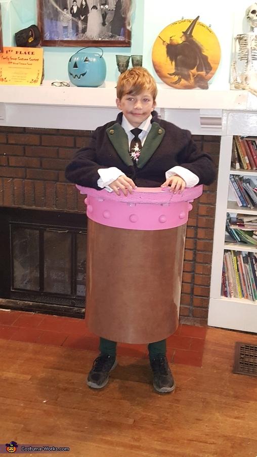 Augustus Gloop, Wonkerer's Costume