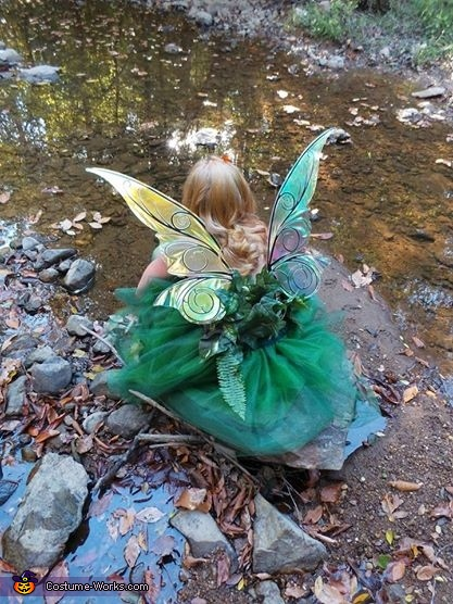Woodland Fairy by the creek, Woodland Fairy Costume