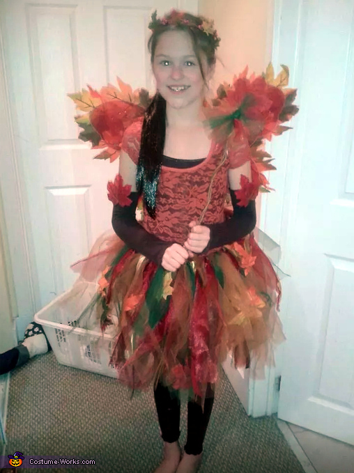 Woodland Fairy Costume  sc 1 st  Costume Works & Homemade Woodland Fairy Costume