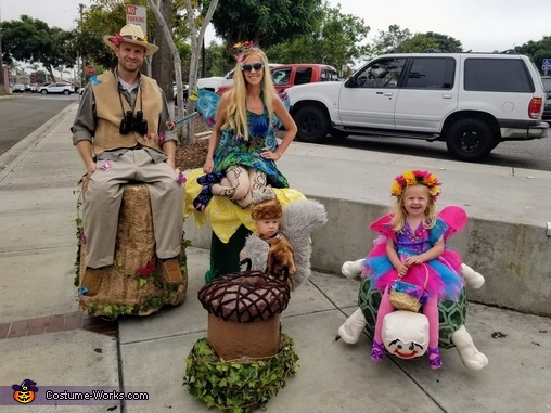 The Woodland Nature Spotting gang, Woodland Nature Spotting Costume