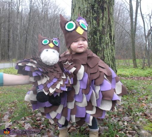 Woodland Owl Baby Costume